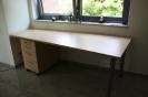 Schreibtisch 2 Ahorn Dekor
