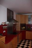 Küche 1.1 Ahorn-Rot