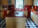 Küche 1.2 Ahorn-Rot