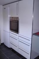 Küche 2.3 Weiß-Rot