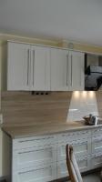 Küche 8.1 Weißlack-Eiche