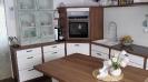 Küche 9.1 Nussbaum-Weiß matt