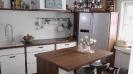 Küche 9.4 Nussbaum-Weiß matt